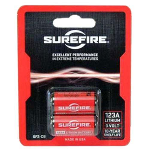 Surefire SF2CB 123A 3V Lithium 2 Pack