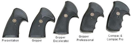 Pachmayr Gripper Decelerator Pistol Grip Ruger RedHawk Black Rubber