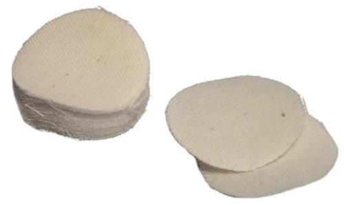 Thompson Center Cotton Roundball Patches .45/.50 White/Cotton