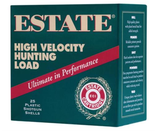 "Estate High Velocity Hunting 28 Ga, 2 3/4"", 1295 FPS, 3/4oz, 6 Shot, 250rd/Case"