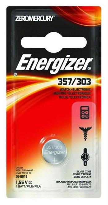 Energizer Advance Lithium Batteries 357/303 1.5 Ea