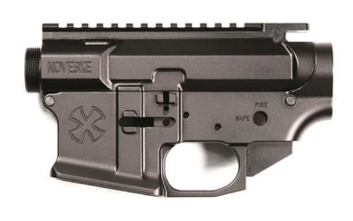 Noveske Gen 3, Lower/Upper Set, 223 Rem/5.56mm, Black, Stripped Lower, Complete Upper (Includes Port Door and Forward Assist, No BCG), Takedown/Pivot Pin Set