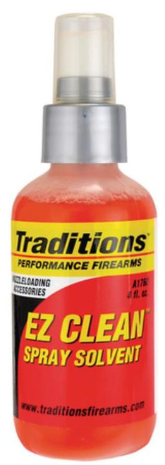 Traditions Black Powder EZ Clean Muzzleloading Bore Solvent 4oz Pump Spray