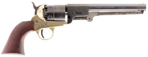 Traditions 1851 Navy Engraved Brass Revolver (Inline) 44 Black Powder