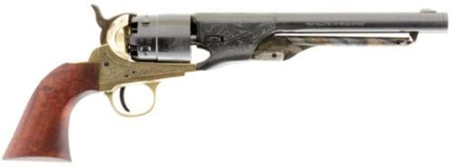 "Traditions 1860 Army Engraved Revolver (Inline) 44 Black Powder 8"" Top"
