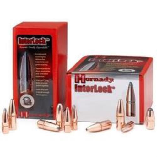 Hornady Match 7mm Caliber .284 Diameter, 139 Gr, Interlock Boat Tail Soft, 100/Box