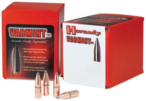 Hornady Rifle Bullets .308 Diameter 220gr, Round Nose Interlock, 100rd/Box