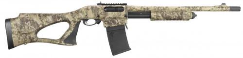 "Remington 870 DM Predator 18"" Barrel, 6 rd & 3 rd. mag, Kryptek Camo, Shur-shot stock; Trulock Chokes"