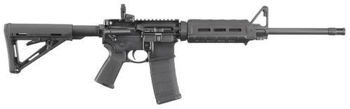 "Ruger AR-556 MOE 5.56mm, 16"" Barrel, M-LOK Handguard, MOE Stock, 30rd"