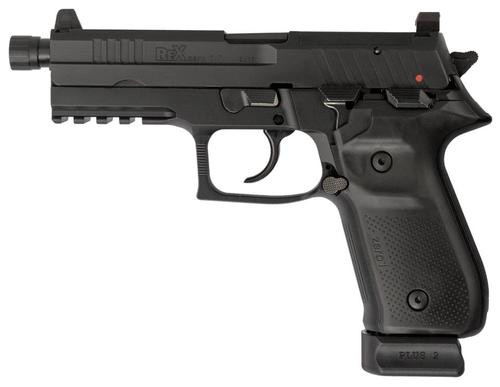 "Arex Rex Zero 1T Single/Double 9mm 4.9"" Barrel, Black Polymer G, 20rd"