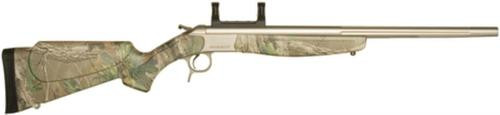 """CVA Scout V2 Single Shot .44 Magnum 22"""" Stainless Steel Barrel Synthetic Stock Realtree Xtra Green Camouflage"""