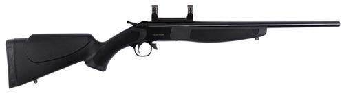 CVA Hunter Blued Synthetic Stock, Scope Mount Break Open 44 Remington M