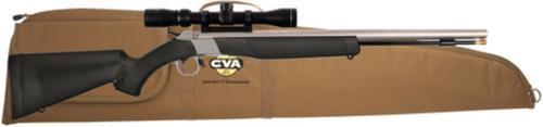 """CVA Wolf Break Open (Inline) 50 Black Powder 24.0"""" 3-9x32mm Scope Black"""