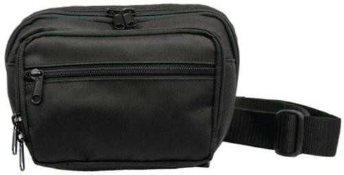 Uncle Mike's GunRunner Fanny Pack Black