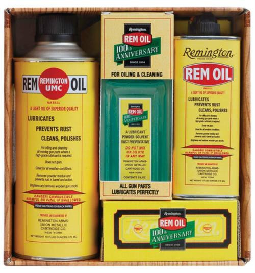 Remington 100th Anniversary Replica Rem Oil Combo Pack Tray