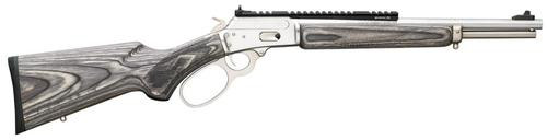 "Marlin 1894 CSBL, 357 Mag/38Spl 16"" SS Barrel Gray Laminate Stock XS Ghost Ring Sights, Scout Mount"