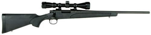"""Remington 700 ADL Compact with Scope Bolt 243 Win 20"""" Barrel, Synthe, 4rd"""