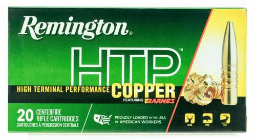 Remington HTP Copper 308 Win/7.62mm 168gr, TSX 20 20rd Box