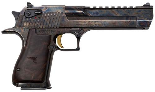 "Desert Eagle Mark XIX Single 50 Action Express (AE) 6"" Barrel Case Hardened Finish 7rd Mag"