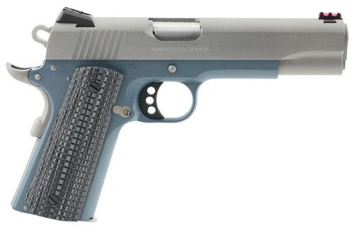 "Colt 1911 Competition 70 Series 9mm 5"" Barrel Blue G10, Logo Grip 9rd Mag"