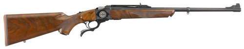 """Ruger #1 50th Anniversary, Single Shot 308 Win, 22"""" Barrel, Satin Blued Finish, Walnut Stock, 7 Pounds, Limited Edition"""