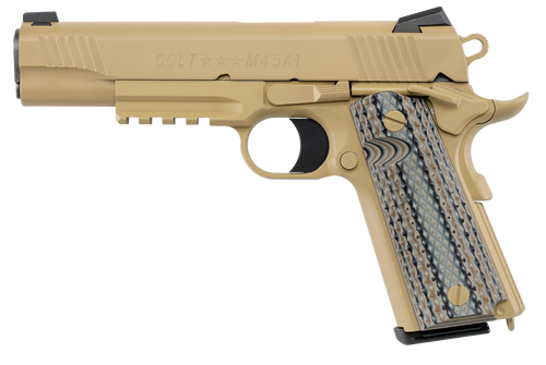 """Colt 1911 CMC Marine 45ACP 5"""" FDE"""