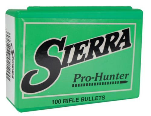 Sierra Pro-Hunter 45 Caliber .458 300gr, Hollow Point Flat Nose, 50rd/Box