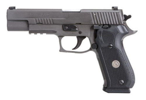 "Sig P220 Legion 10mm 5"" Barrel Legion Gray PVD Finish X-Ray 3 Sights G-10 Grip 8rd Mag, P-SAIT Trigger"
