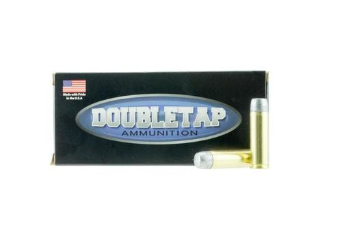 DoubleTap Ammunition Hardcast Solid, 500 S&W, 400Gr, Hard Cast, 20rd Box