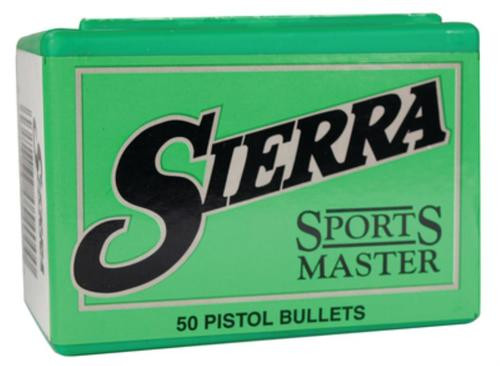 Sierra Sports Master Handgun .50 Caliber .500 400gr, JSP, 50/Box
