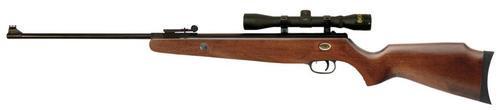 Beeman Dual Caliber .177/.22 Air Rifle, Scope & European Hardwood Stock