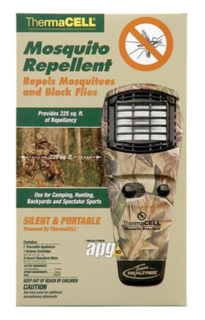 Thermacell Mosquito Repellent Unit With On/Off Turn Dial, Realtree Camouflage
