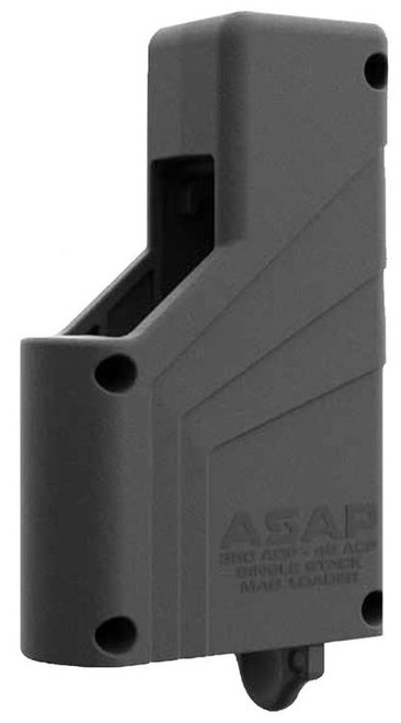 Butler Creek ASAP Pistol Loader, Gray, Fits Most Single Stack Magazines .380ACP-.45ACP