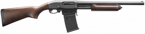 "Remington 870 DM Hardwood 12 GA, 18.5"" Barrel, Detachable Magazine"