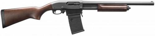 "Remington 870 DM Hardwood 12 GA, 18.5"" Barrel, Detachable Magazine"