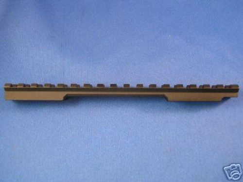 EGW Savage Round Back Short Action Picatinny Rail Scope Mount 20 MOA