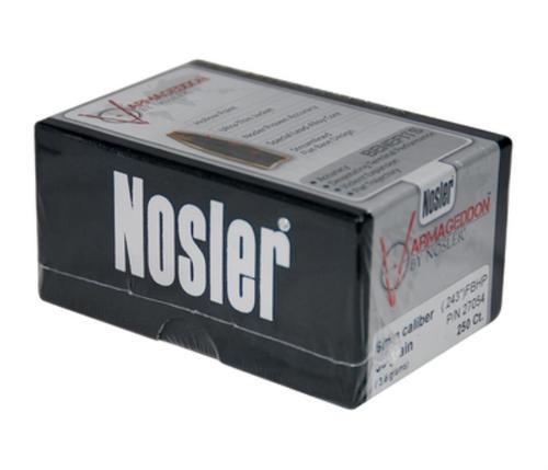 Nosler Varmageddon .243 55gr, 6mm FBHP 250 Per Box