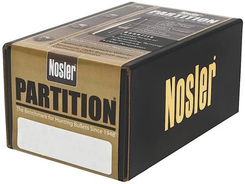 Nosler Partition Spitzer 8mm .323 200gr, 50/Box