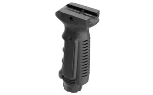 Leapers, Inc. - UTG Vertical Foregrip, Ergonomic Finger Grooves, Ambidextrous, Picatinny, Black