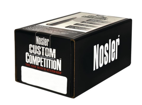 Nosler Competition Bullets .264 Diameter 140 Hollow Point Boattail 1000 Per Box