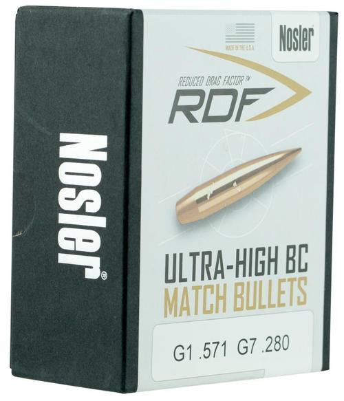Nosler RDF Match 6mm .243 105gr, Hollow Point Boat Tail 100 Box