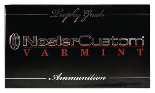 Nosler Trophy Grade .22-250 Remington 40gr, Ballistic Tip Lead Free 20rd Box