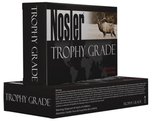 Nosler Trophy Grade 338 Winchester Magnum 225gr, AccuBond, 20rd Box