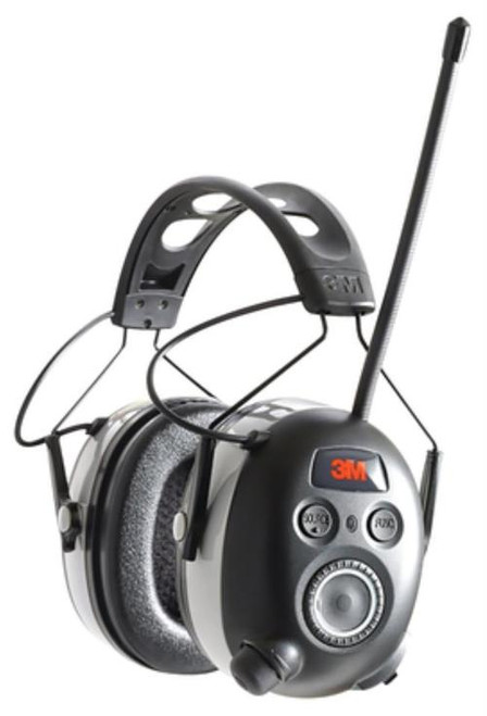Peltor 3M WorkTunes Wireless Hearing Protection With Bluetooth Technology and AM/FM Radio NRR24db