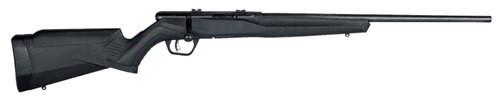 "Savage B22 Magnum F Bolt 22 WMR 21"" Barrel, Synthetic Black Stock Black, 10rd"