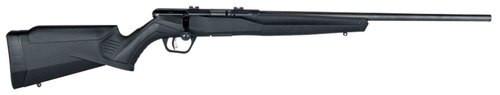 "Savage B22 Magnum FV Bolt 22 WMR 21"" Barrel, Synthetic Black Stock Black, 10rd"