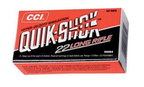 CCI Varmint 22LR Copper-Plated Segmented HP 32gr, 50rd Box
