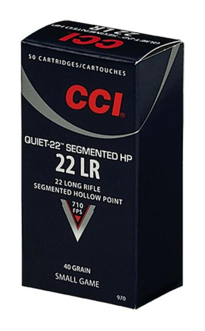 CCI Quiet-22 22LR 40GR CPRN 50rd Box