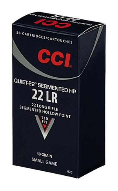 CCI Quiet-22 22LR 40GR CPRN 50rd Box