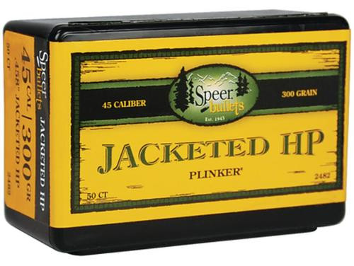 Speer Rifle Bullets 45 Caliber .458 300gr, JHP, 50rd/Box